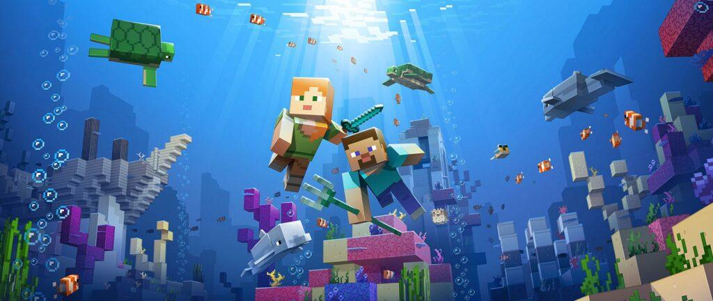 Minecraft Under Sea