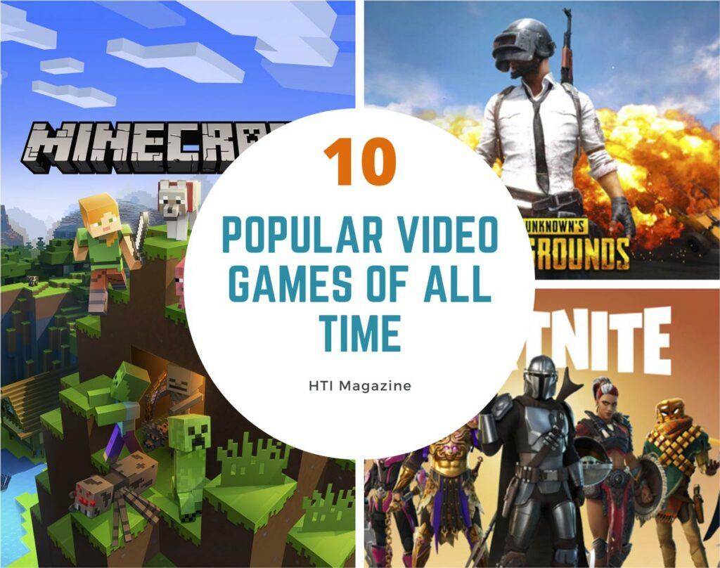 10 Most Popular Games
