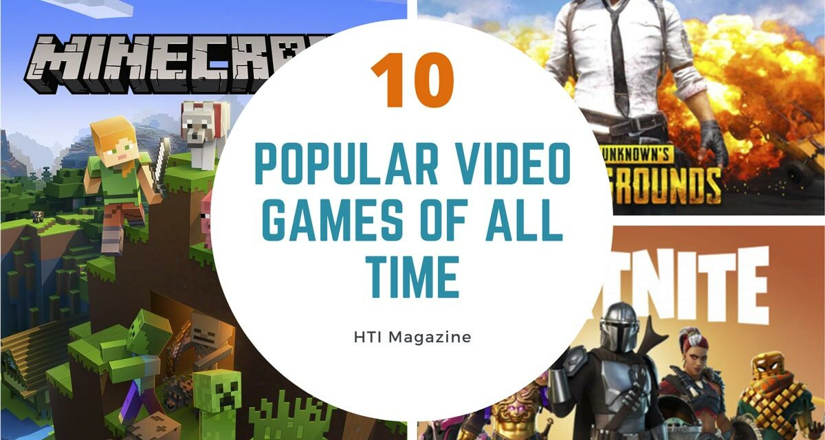 10 Most Popular Video Games of All Time