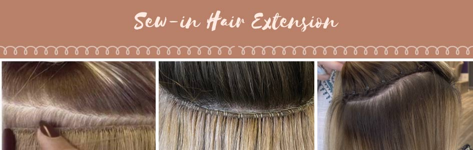 sew-in hair extension