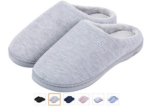 DL Women's Memory Foam Slippers