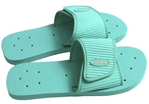 Shower Shoez Women's Non-Slip Pool Dorm Water Slide Sandal