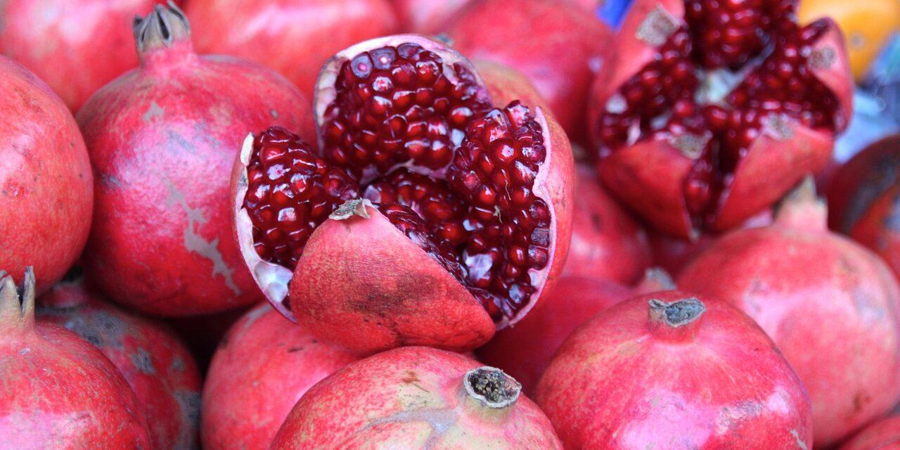 Top Ten Health Benefits of Pomegranates