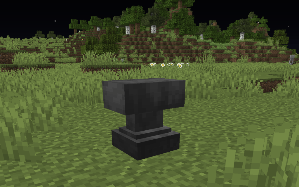 All about Minecraft Anvils